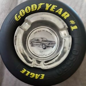LAST ONE! Goodyear #1 Eagle 69 Mustang ashtray